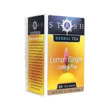 stash tea lemon herbal tea caffeine free 20 bag s
