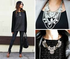 wear statement necklace images 20 ways to wear statement necklaces png