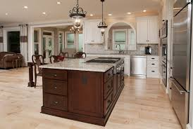 kitchen with stove in island kitchen island ideas with seating tags overwhelming kitchen