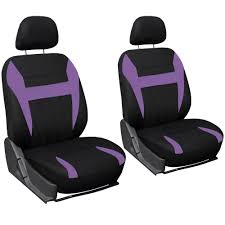 nissan micra seat covers 9pc set purple black bucket car seat covers steering wheel cover