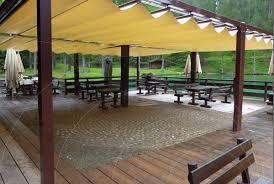 pergola avec toile retractable store d ombrage pour pergola toile terrasse sur mesure