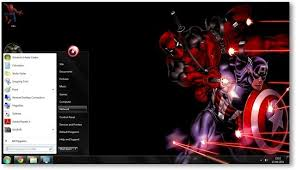 theme de bureau windows 7 windows 7 themes marvel theme for windows