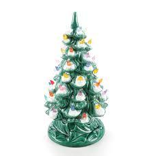 vintage ceramic christmas tree vintage illuminated ceramic christmas tree ebth