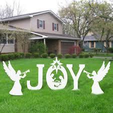 large outdoor nativity yard nativity set ebay