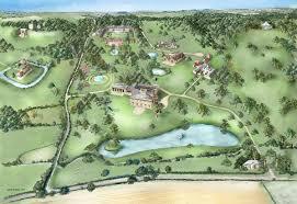 estate map country estate in suffolk wilderness reserve