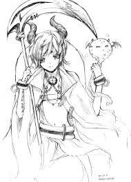 sketch demon prince by aku ri ru on deviantart