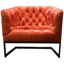 Leather Tufted Chair Viyet Designer Furniture Seating Lee Industries Tufted
