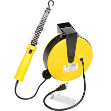 bayco led portable work light hose cord reels electrical cable reels bayco 174 sl 864 60