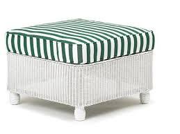 Cushion Ottoman Lloyd Flanders Front Porch Ottoman Replacement Cushion