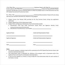 sample passport authorization letter 9 free documents in pdf word