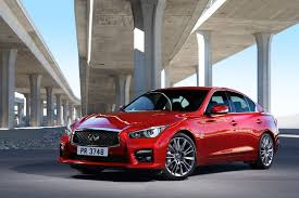 infiniti q50 new flagship red sport 400 bonus wheels groovecar