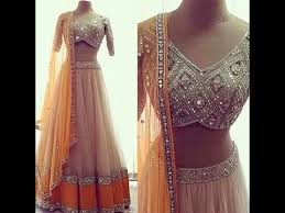 lengha choli for engagement mirror work lehenga designs for indian wedding reception