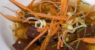 de cuisine thailandaise recettes de sang de porc et de cuisine