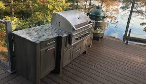 outdoor kitchen furniture naturekast weatherproof cabinetry