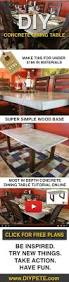 make your own dining room table make this concrete dining table for under 200 free diy plans
