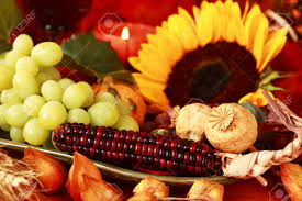 decorating table for thanksgiving still life and harvest or table decoration for thanksgiving stock
