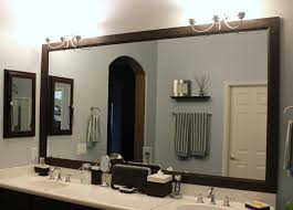 Framed Bathroom Mirrors Ideas Bathroom Interior Bathroom Mirror Ideas For A Small Home Design