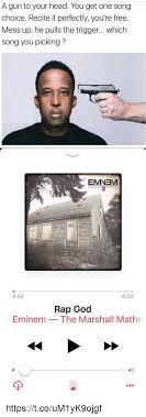 Eminem Rap God Meme - 25 best memes about rap god eminem rap god eminem memes
