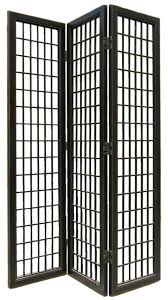 Room Dividers Hobby Lobby by 3 Panel Black Lacquer