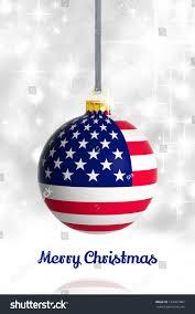 merry usa flag stock illustration