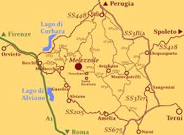 Orvieto Italy Map by Palazzo Degli Anselmi Contacts