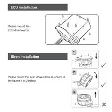 steelmate 886t 1 way motorcycle alarm system remote control engine