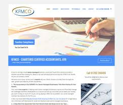 web design home based business web design for accountants kfmco accountants web design case study