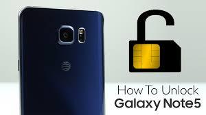 how to unlock samsung galaxy note 5 sim unlock youtube