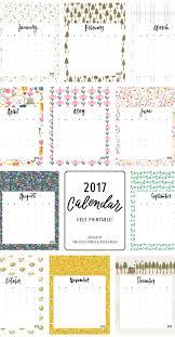 print calendars for 2017 2017 printable calendar tea towel free download jessica keala
