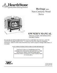 Heritage Soapstone Wood Stove Hearthstone Heritage Soapstone Wood Stove Parts