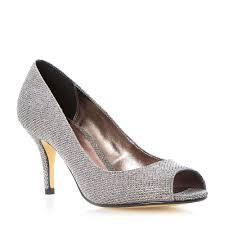 wedding shoes online uk roland cartier dockilies glitter peep toe mid heel court