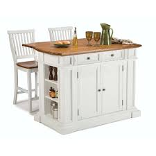 White Island Kitchen Home Styles Americana White Kitchen Island With Seating 5002 948