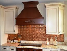 Cool Copper Backsplash Contemporary Kitchen Tampa By - Copper backsplash