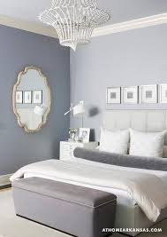 Gray Bedroom Bench At Home In Arkansas Bedrooms Gray Room Tufted Headboard Gray