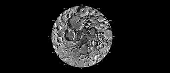 the poles of the moon
