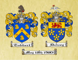 Family Crest Flags Anniversary Crest Dual Coat Of Arms And 50 Similar Items