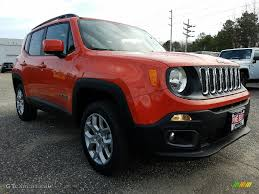jeep renegade interior orange 2017 omaha orange jeep renegade latitude 4x4 118964010 gtcarlot