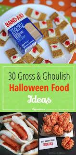 30 gross and ghoulish halloween food ideas via tipjunkie