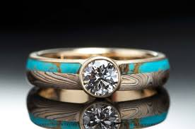 Native American Wedding Rings by Wedding Rings Engagement Rings Vintage Turquoise Stone