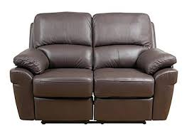 Milan Leather Sofa by 2 Seat Reclining Leather Sofa 2 Seater Recliner Lounge For Sale 2