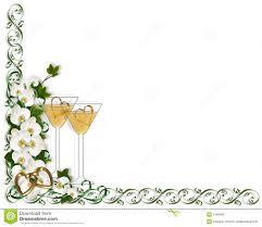 wedding invitation border template royalty free stock photo