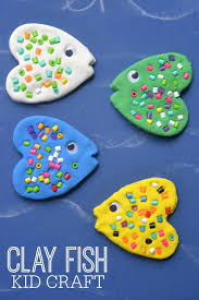clay fish craft for kids blitsy