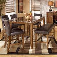 High Dining Room Table Set by Faux Marble Dining Table Set Foter