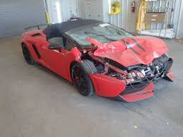 crashed for sale lamborghini gallardo lp570 4 spyder performante crashed for sale 1