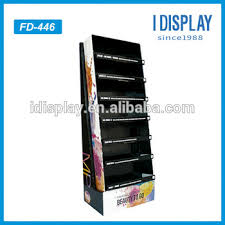 Professional Makeup Stand Professional Black Makeup Display Stand With 7 Tier Cardboard