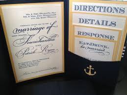 nautical wedding invitations diy nautical invitations and wedding programs weddingbee