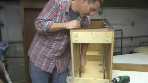 How To Fix A Cabinet Drawer Cabinet How To Install Kitchen Cabinet Drawer Slides How To