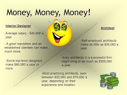 Average Salary For An Interior Designer An Interior Designer And An Architect Ppt Download
