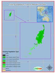 Palau Map Landfire Program Applications