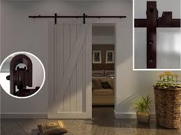 Barn Style Interior Sliding Doors Inside Barn Door Hardware Home Design And Pictures